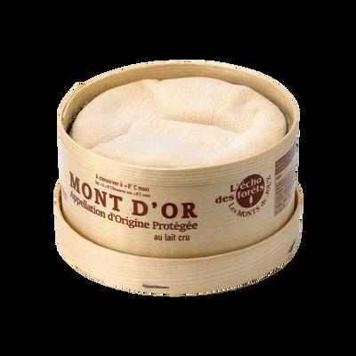 Mini Mont d'Or AOP au lait cru L'ECHO DES FORETS, 24% de MG
