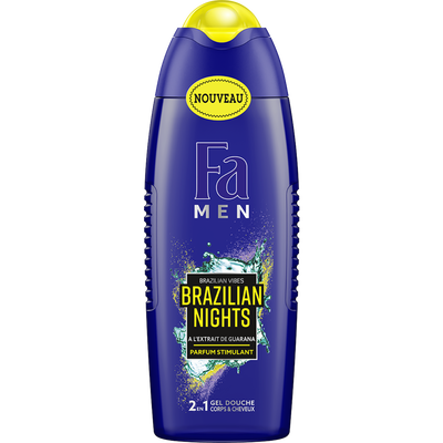 Gel douche brazilian nights 2en1 FA men, 250ml