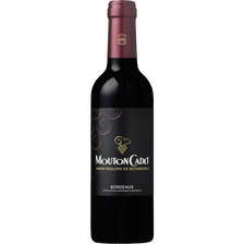 Vin rouge AOP Bordeaux MOUTON CADET, bouteille de 37,5cl