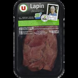 Foie de lapin, U NA, France, 3 pièces