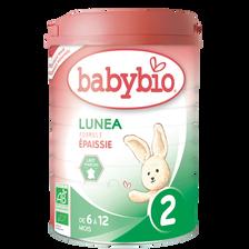 Lunea 2ème âge BIO BABYBIO, 900g