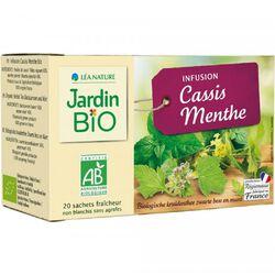 INFUSION CASSIS MENTHE JARDIN BIO