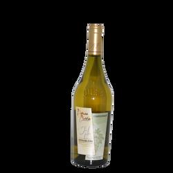 """Côtes du Jura AOP blanc Domaine Clavelin """"chardonnay Les Charmes""""75cl"""
