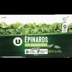 Epinards en branches U, 450g