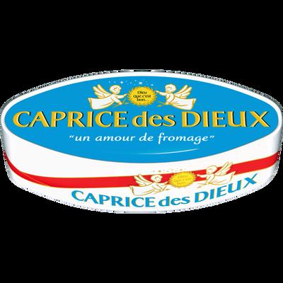 Fromage pasteurisé CAPRICE DES DIEUX, 30% de MG, 300g