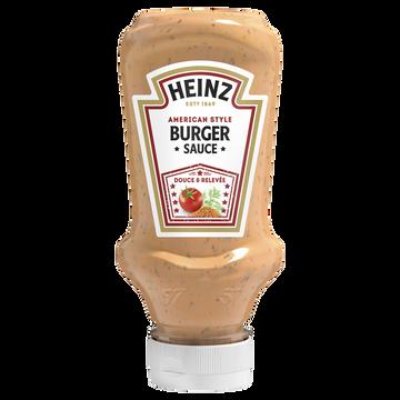Heinz Sauce American Burger Heinz Flacon Souple Top Down 230g