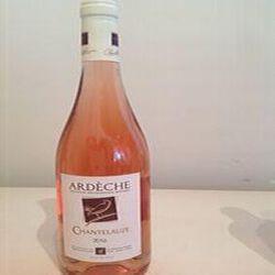 Chantelauze 2016 IGP Ardèche rosé Vignerons Ardéchois