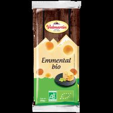 Emmental bio au lait pasteurisé 29%MG VALMARTIN portion 220g