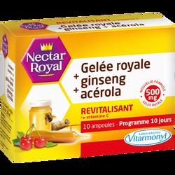 Revitalisant nectar royal x10 ampoules 100ml VITARMONYL