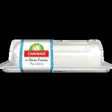 Chavroux Fromage Lait De Chèvre Bûche Fraîche Nature , 23%mg, 150g