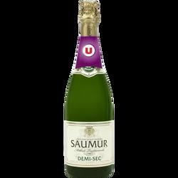Saumur demi-sec AOP U, 75cl