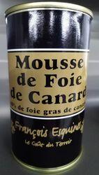 mousse de foie de canard (40% de foie gras de canard)
