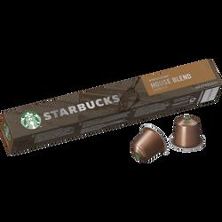 STARBUCKS by nespresso house blend, x10, 57g