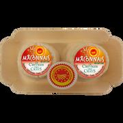 Maconnais Maconnais Duo Aop Au Lait Cru De Chèvre 25% De Mg, 2x45g