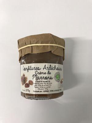 Crème de marrons ardéchoise 375g SOPREG