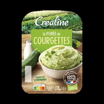 Créaline Purée De Courgettes, Crealine, Barquette 2 X 200g