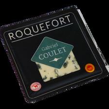 Roquefort AOP lait cru brebis 32% de MG, COSSE NOIRE