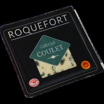 Roquefort AOP lait cru brebis COSSE NOIRE, 32% de MG, 100g