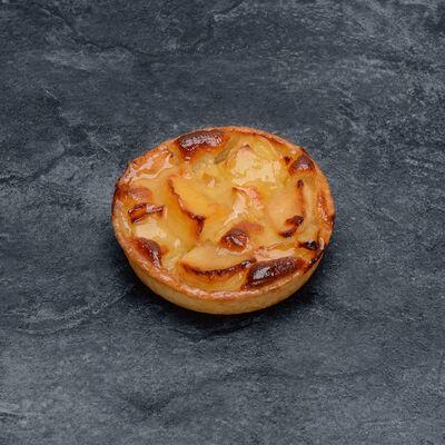 Tartelette pomme normande décongelé, 4 pièces, 340g
