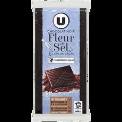 Tablette de chocolat noir SELETCTION U, 200g