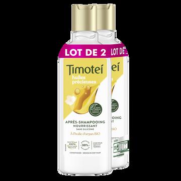 Timotei Après-shampooing Huile D'argan,jasmin Femme Timotei 2x300ml