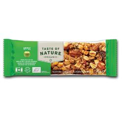 Barre céréales Pomme bio TASTE OF NATURE 40g