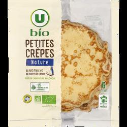 Petites crêpes bretonnes bio U, 6x240g