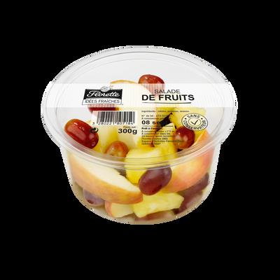 Salade de fruits, FLORETTE, barquette 300g