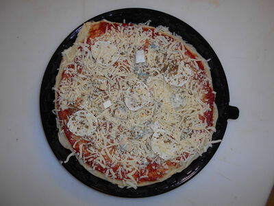 PIZZA FRAICHE  3 FROMAGES