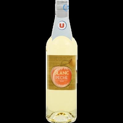 Boisson aromatisée à base de vin blanc/pêche U 7,5° 75cl