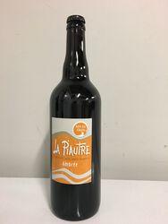 Bière bio ambrée - La Piautre 75cl