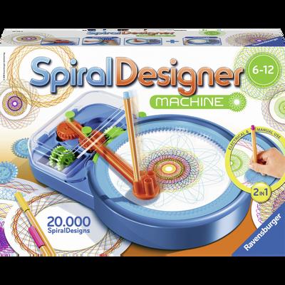 Maxi spiral designer machine