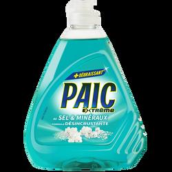Liquide vaisselle sel & minéraux extrême PAIC, flacon de 500ml
