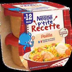 P'tite Recette paella NESTLÉ, 2x200g