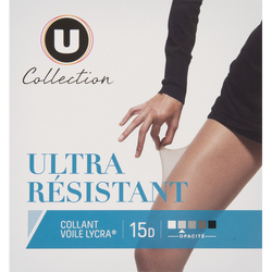 COLLANT VOILE ULTRA RESISTANT U COLLECTION