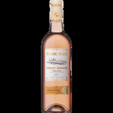 Vin rosé IGP Pays d'Oc Grenache Cinsault Roche Mazet, 75cl