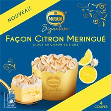 Nestlé Dessert Individuel Citron Meringue  Signature, 4 Coupes De 66g