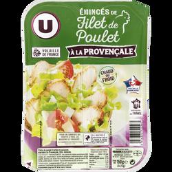 Emincés de filet de poulet a la provençale U, 150g