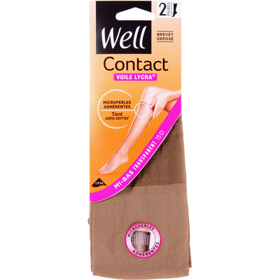 MI-BAS VOILE LYCRA CONTACT WELL   X2