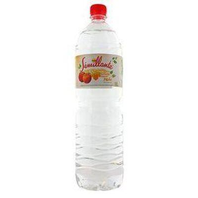 eau plate semillante aromatiser a la peche 1l