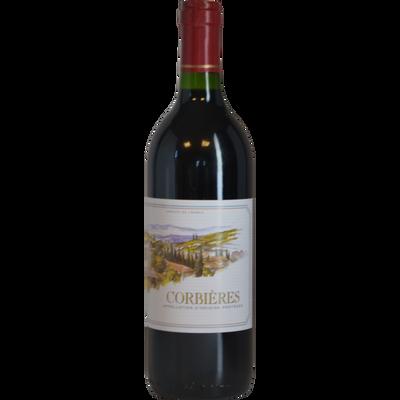 """Vin rouge AOC """"Corbières"""", 75cl"""