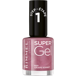 Vernis à ongles super gel n°23 grape sorbet RIMMEL, 12ml