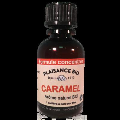 Arôme liquide naturel caramel bio, PLAISANCE BIO, 30g