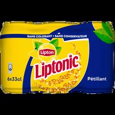 LIPTONIC, 6 canettes de 33cl