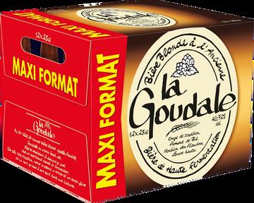 La Goudale Bière Blonde La Goudale 7,2°, Pack De 12x25cl