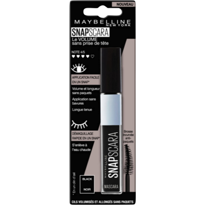 Mascara snapscaras 001 hd black blister MAYBELLINE