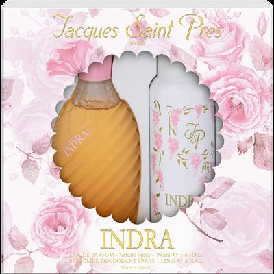 Coffret Indra ULRIC DE VARENS eau de parfum 100ml + déodorant 125ml
