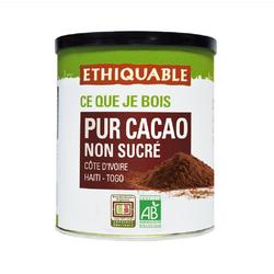 Pur cacao non sucré BIO ETHIQUABLE 200g