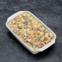 Salade de harengs à la flamande,
