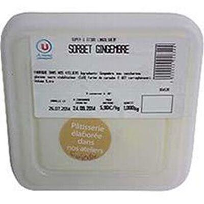 Sorbet gingembre, bac de 1l